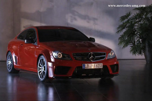 The Mercedes-Benz C63 AMG Black Series Coupe is pure evil