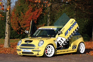 The JM CarDesign Mini One 1.6 Show Car is all about Looks