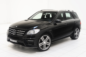 Brabus Mercedes ML W 166 Tuning