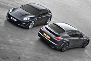 A Kahn Design Porsche Panamera Wide Track