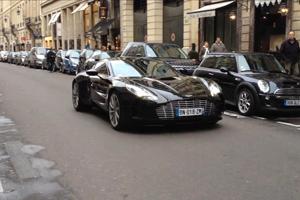 Facepalm: Stalling an Aston Martin One-77 in traffic