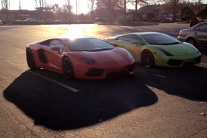 Lamborghini Aventador vs Underground Racing Twin Turbo Gallardo – Video