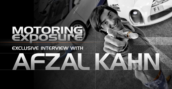 The Exclusive Interview with Afzal Kahn of A Kahn Design