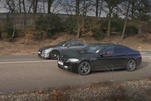 Watch the Nissan GT-R vs F10 BMW M5 – Video
