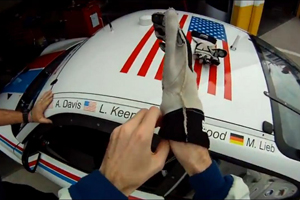 Watch Leh Keen and the Brumos Racing Team during the Rolex 24 at Daytona