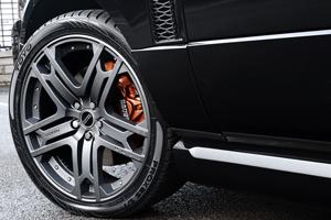 The new A Kahn Design Range Rover Harris Tweed Edition