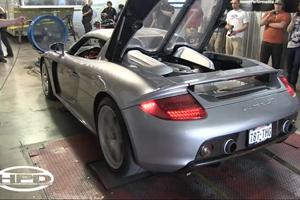 Porsche Carrera GT Dyno Video