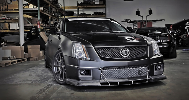 D3 Cadillac Night Hawk CTS-V