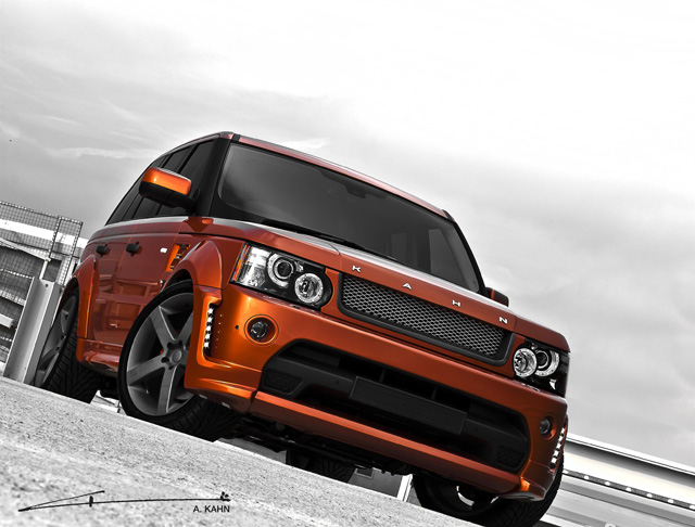 A Kahn Design 2012 Range Rover Vesuvius Edition