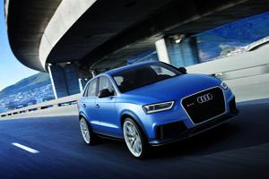 Audi RS Q3 concept/Fahraufnahme