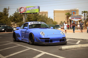 Nakai San and his personal RWB 993 for the US - Video