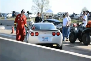 Friday Fail: The Corvette Drag Strip Burnout Gone Wrong