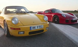 New and Old: The Ruf CTR Yellow Bird and CTR3 - Video