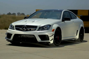 Let's go for a hot lap in the C63 AMG Black Series!