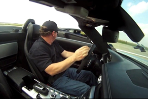 Mario Williams' Aventador eats an SLS AMG Roadster for Lunch - Video
