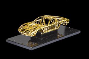 Dante Gold Miura Sculpture