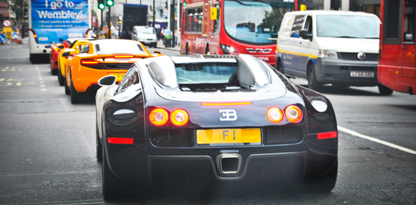 F1 Number Plate owned by Afzal Kahn