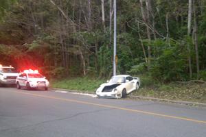Montreal Porsche 959 crash