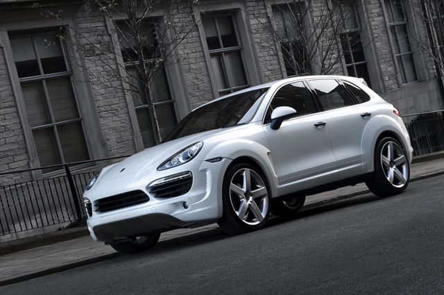 Porsche Cayenne Wide Track by A Kahn Design