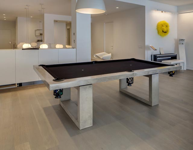 James DeWulf Concrete Pool Table