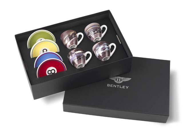 Bentley Le Mans Racing Espresso Set