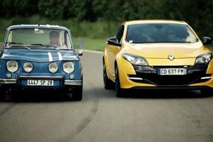 Renault R8 Gordini and Megane RS