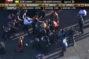NASCAR Fight