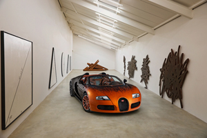 Veyron Grand Sport Art Car by Bernar Venet