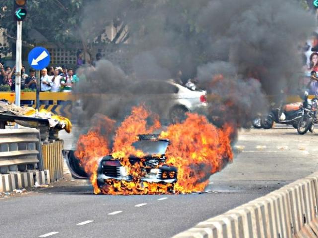 Audi R8 Fire Parx