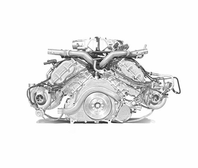 McLaren P1 Motor