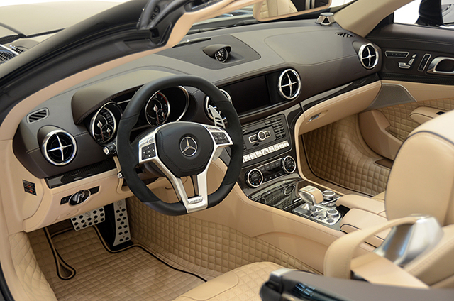 Brabus 800 Roadster Interior