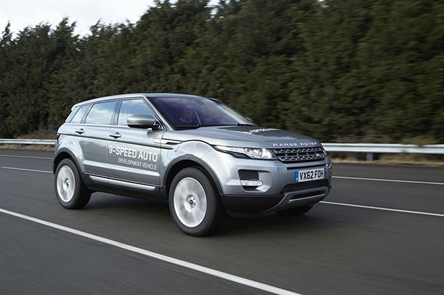 Land Rover 9-speed Auto
