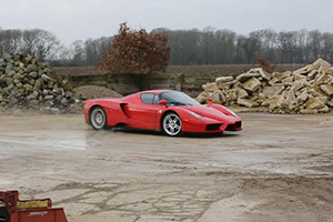 Ferrari Enzo rally