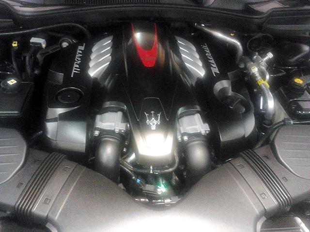 2014 Maserati Quattroporte Engine