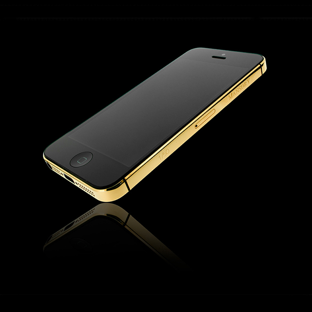 24-Carat iPhone 5 by Mansory and Golden Dreams