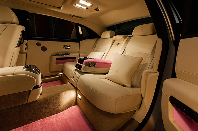 FAB1 Rolls Royce Ghost Extended Wheelbase Interior