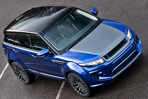 Imperial Blue Evoque