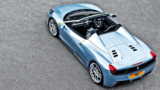 A Kahn Design Ferrari 458 Spider