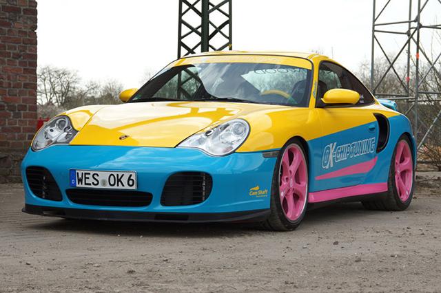 OK-Chiptuning Manta Porsche 911 Turbo