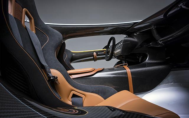 Aston Martin CC100 Speedster Concept Interior