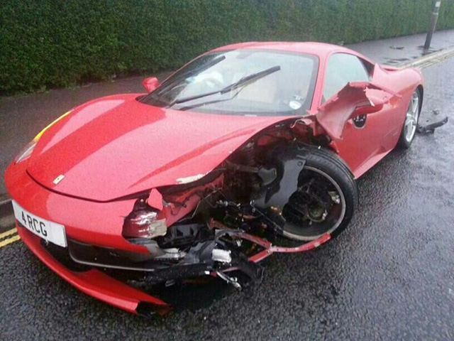 Ferrari 458 Italia Detail After