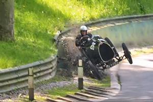 vintage bugatti crash