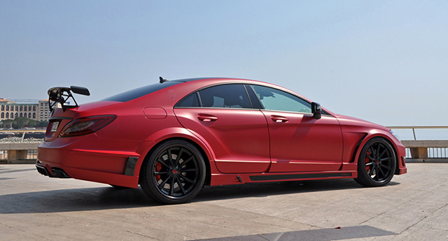 German Special Customs Stealth CLS 63 AMG