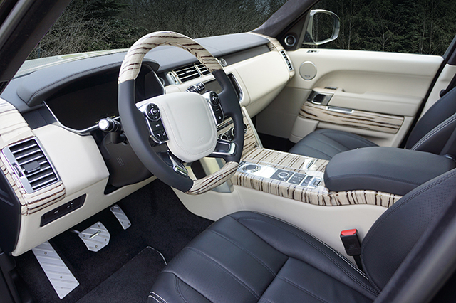 Mansory Range Rover Vogue VI Interior