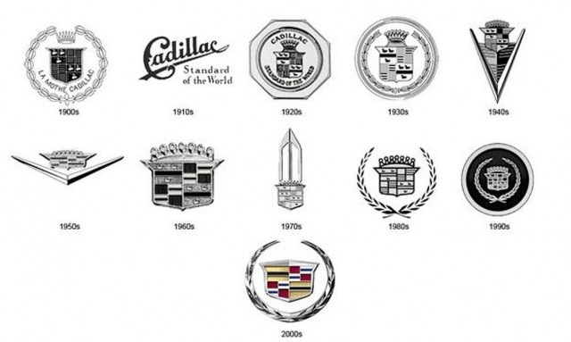Cadillac logos