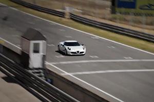 Marc Gené takes the Alfa Romeo 4C