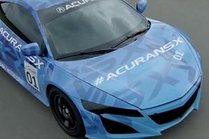 prototype Acura NSX