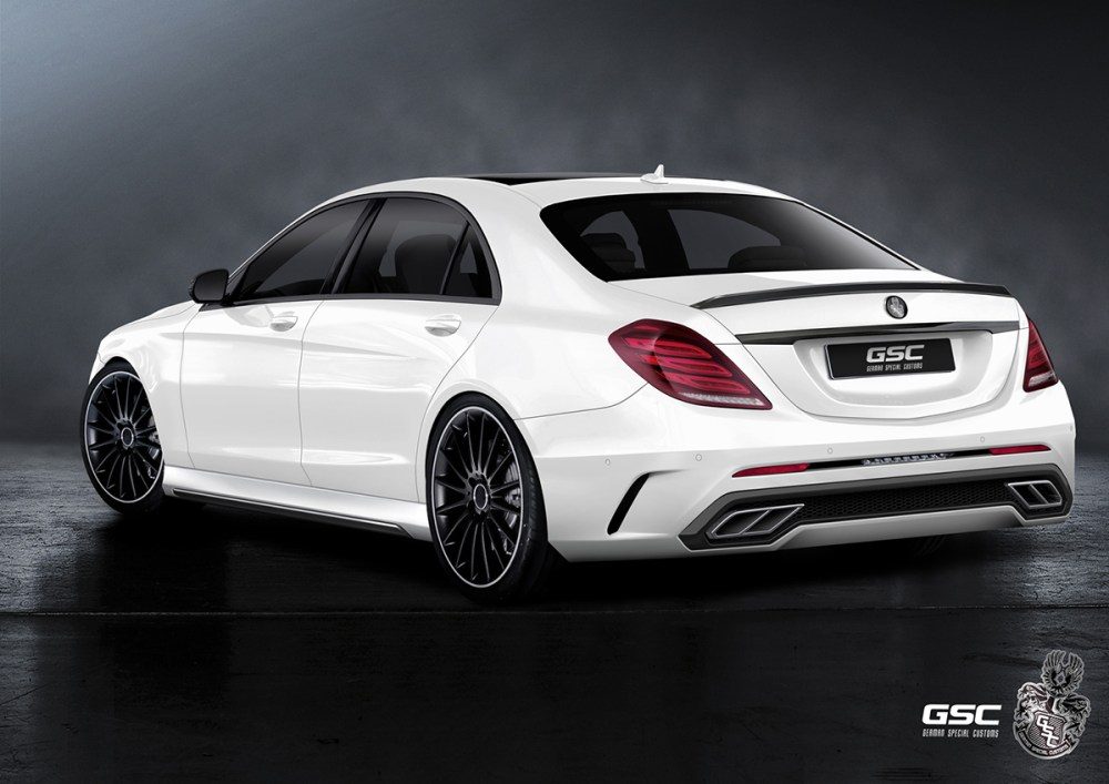 German Special Customs Mercedes-Benz S-Class (W222)