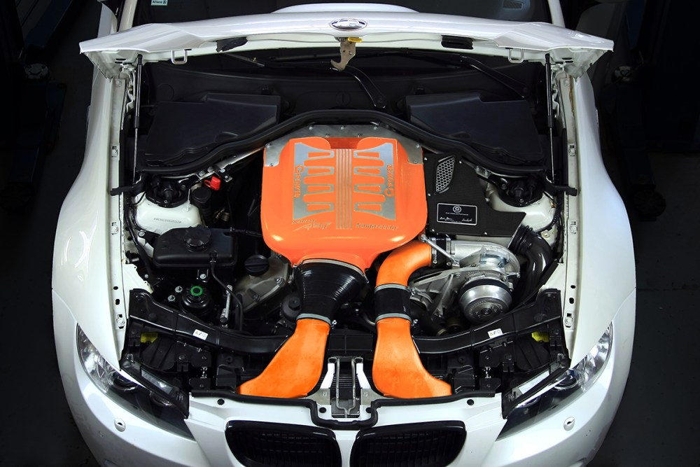 G-Power M3 V8 GP Edition 30 Years Supercharger