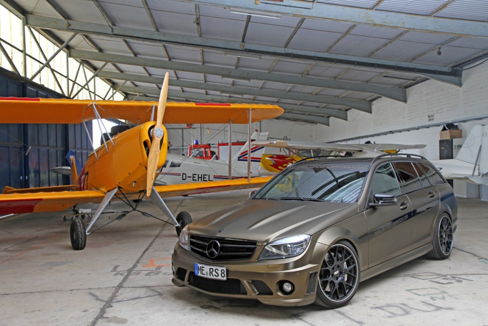 FolienCenter-NRW and SR-Performance C63 AMG Estate
